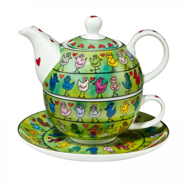 James Rizzi: Birds on a Love Wire. Tea for One / 0,35 l