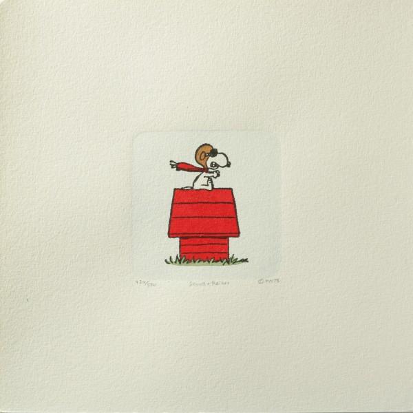 Charles M. Schulz: Peanuts - Snoopy, 01, medium. Original-Radierung