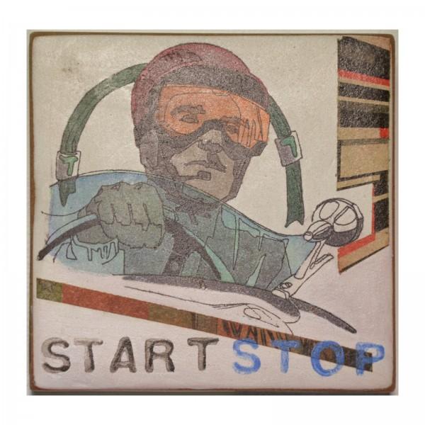 Kati Elm: start stop, 2017