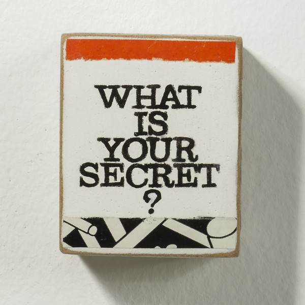 Kati Elm: what is your secret, 2018